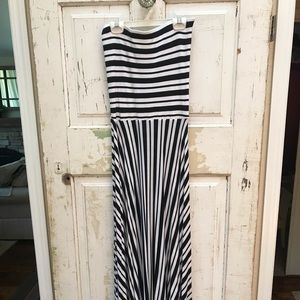 Felicity and Coco striped maxi dress size S